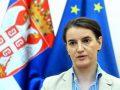 Brnabiq: Jemi larg marrëveshjes me Kosovën, shkëmbimi i territoreve nuk mjafton
