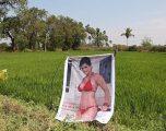 Fermeri beson se posteri i aktores atraktive, ia largon 'syrin e keq' prej të mbjellave (Video)