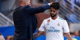 Zidane: Dua që Isco të qëndrojë përjetë në Real Madrid