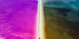 Magjia e liqeneve shumëngjyrësh të Australisë (Foto)