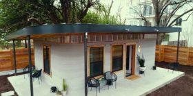 Kjo është një shtëpi e ndërtuar nga një printer 3D dhe kushton 10,000 dollarë