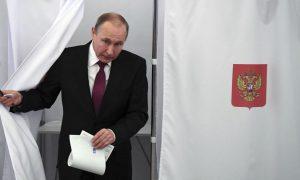 Rusi: Presidenti Putin pritet të fitojë në zgjedhje