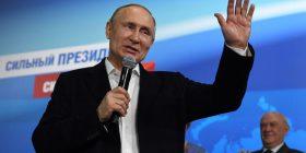 Reagime për zgjedhjen e Vladimir Putinit si president i Rusisë