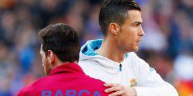 """Sondazh: """"Kush është më i miri?"""", përgjigjet e nëntë lojtarëve që kanë luajtur me Ronaldon dhe Messin"""