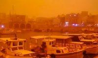 Dita kur Kreta u bë portokalli: Ishulli grek mbulohet prej pluhurit, që erdhi nga Saharaja (Foto)