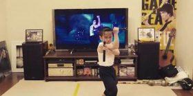 """""""Mjeshtër i Kung Fusë"""", 8-vjeçari imiton në mënyrë të përkryer lëvizjet e Bruce Lee (Foto/Video)"""