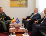 Berisha dhe Atasheu Belg diskutojnë bashkëpunimin në siguri