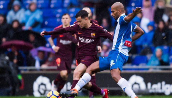Coutinho kalon Barçën në epërsi ndaj La Corunas