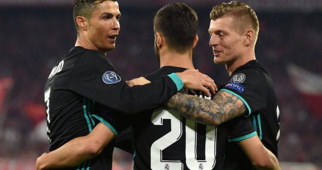 Bayern 1-2 Real, notat e lojtarëve
