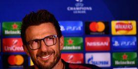 Di Francesco: Duhet të luajmë si një ekip dhe kolektiv ndaj Liverpoolit, tanimë po e imagjinojë atmosferën