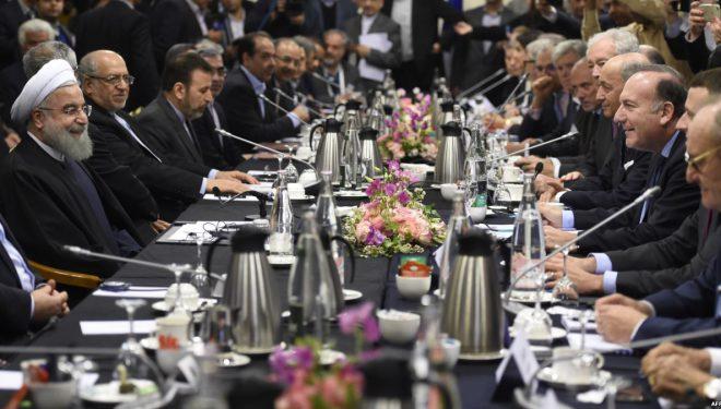 Macron dhe Rohani do të punojnë drejt ruajtjes së paktit bërthamor