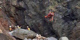 Fëmija 11-vjeçar i mbijetoi rënies nga shkëmbi i lartë 60 metra (Foto)