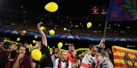 Barcelona nën hetim nga UEFA, shkak ballonët