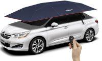 Ombrella që mbron veturën tuaj nga dielli, shiu dhe gjërat e forta – ajo mund të përdoret edhe si tendë për kamping (Video)