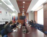 Deputetët e LDK-së takojnë deputetin e Bundestagut Manuel Sarrazi