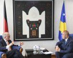 Haradinaj: Kosova mirënjohëse për kontributin e Ambasadori Ischinger