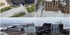 Misteri i qytetit rus që po e përpinë toka, pamjet me dron tregojnë qytetin fantazmë (Video)