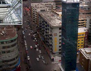 Kinezët prezantojnë ndërtesën 26 katëshe të parkingut super modern (Foto/Video)