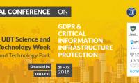 UBT dhe divizioni i saj CERT organizojnë nesër konferencën e parë kombëtare për CIIP dhe GDPR