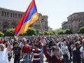 Thellohen protestat në Armeni