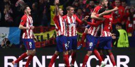 Atletico Madrid e nis mbrapsht në La Liga