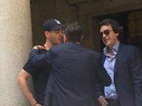 Morata fotografohet në takim me drejtorin e Juventusit
