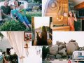 Familja pesënatëshe heq dorë nga jeta urbane për të jetuar në rulotë (Foto)