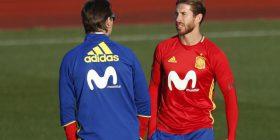 Pas shkarkimit të Lopoteguit, Pique evitoi përleshjen mes Ramosit dhe zyrtarit të federatës spanjolle