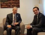 Kurti dhe Delawie, diskutojnë për dialogun Kosovë – Serbi