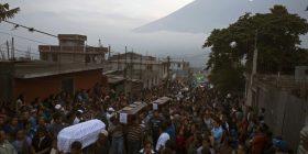 Gutemala mban zi për viktimat e vullkanit