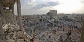 Sulm ajror në Siri, vriten dhe plagosen dhjetra vetë