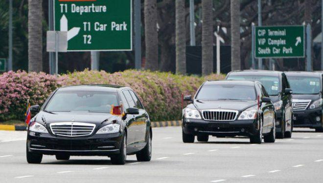 Pasi sheh veturën presidenciale të Trumpit, Kim Jong-un largohet me Mercedesin e tij – i cili gjithashtu ka gjëra shumë të veçanta (Foto/Video)
