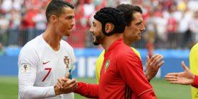 Sulmuesi i Marokut, Amrabat: Gjyqtari kryesor i kërkoi fanellën Ronaldos, ky është Botëror dhe jo cirk