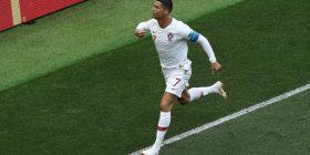 """Tre lojtarët që kanë arritur shpejtësinë më të madhe në Kupën e Botës, Ronaldo """"me krahë"""" i prinë listës"""