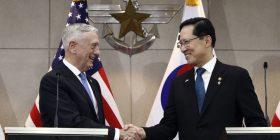 Sekretari i Mbrojtjes Mattis takohet në Seul me homologun koreano-jugor