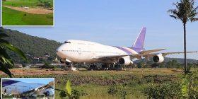 Banorët e një fshati në Tajlandë habiten kur në fusha gjejnë aeroplanin Boeing 747, më vonë e kuptojnë se pronari i tokës e kishte blerë në ankand (Foto)