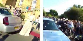 E kishin ngacmuar gjithmonë në shkollë, adoleshentja shfaqet në mbrëmjen e maturës e eskortuar nga 120 motoçiklistë (Video)