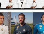 Real Madridi publikon fanellat e reja – Mungon Ronaldo me foto, por jo fanella e tij