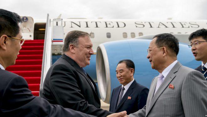 Sekretari Pompeo në Korenë e Veriut