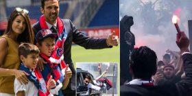 Pritja spektakolare e një legjende në Paris – Motor, fishekzjarrë dhe prezantim me familjen e tij e tij, Buffon në ditën e parë si lojtar i PSG-së