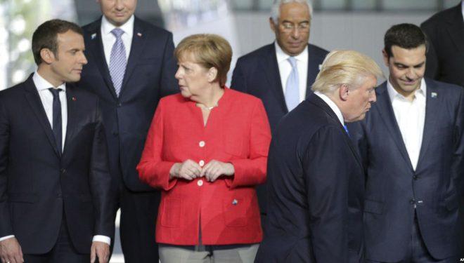 Presidenti Trump fillon udhëtimin në Evropë – aleatët ndjehen nervozë