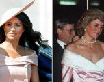 Meghan Markle nuk e zgjodhi rastësisht këtë kostum në homazhet e Princeshë Dianës, çfarë fshihet pas tij?