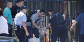 Një i plagosur nga shpërthimi para ambasadës amerikane në Pekin