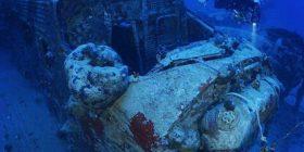 Aeroplani gjerman që besohet të jetë fundosur para 75 vitesh, gjendet në bregdetin grek i ruajtur në mënyrë të përkryer (Video)
