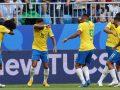 Brazili kalon në çerekfinale pas fitores ndaj Meksikës