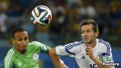 Peter Odemwingie (majtas) ka zgjedhur që të luajë për Nigerinë, edhe pse ka lindur dhe është rritur në Rusi.