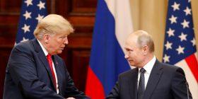 Presidenti Putin fton presidentin Trump në Rusi