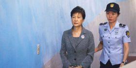 8 vjet shtesë burg për ish-presidenten koreano-jugore