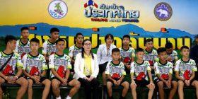Tajlandë, 12 të rinjtë futbollistë dhe trajneri dalin nga spitali