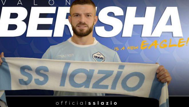 Zyrtare: Valon Berisha lojtar i Lazios